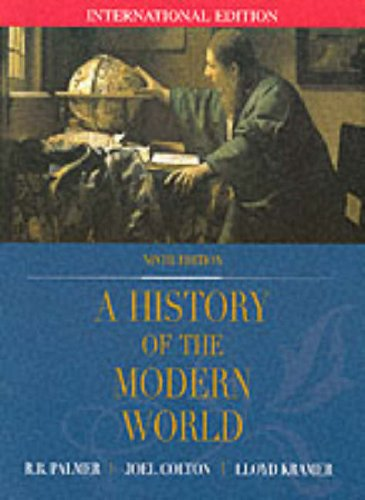 a history of the modern world palmer pdf download
