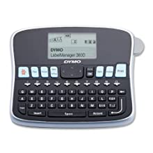 DYMO LabelManager Label Printer, Black/Gray (LM360D)