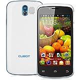 "Cubot GT95 - Smartphone de 4"" (3G, Bluetooth, MTK6572 Dual Core, 4 GB ROM, dual SIM, Android 4.2) blanco"