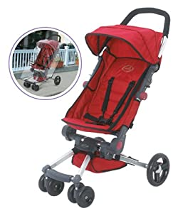 Summer Infant Quick Smart Easy Fold Stroller With Weathershield Carbon Chilli Pepper
