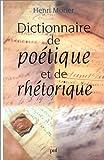echange, troc Henri Morier - Poétique et de rhétorique