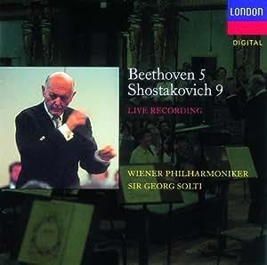 Beethoven: Symphony No. 5 / Shostakovich: Symphony No. 9 ~ Solti