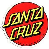 Santa Cruz Classic Logo Skateboard Sticker - skate skating skateboarding medium