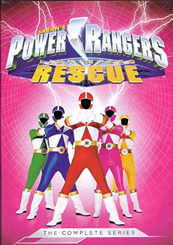 Power Rangers Lightspeed Rescue Complete Series (Season 8) [6 DVDs] [2000] (Power Rangers Season 8 compare prices)