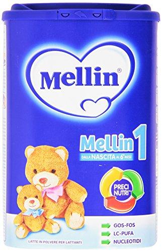 Mellin - Latte in Polvere 1, Dalla Nascita al 6 Mese, 900g