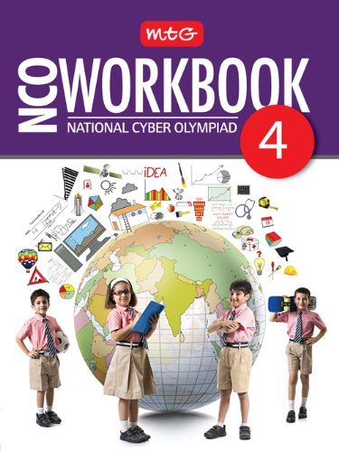 MTG National Cyber Olympiad (NCO) Work Book - Class 4