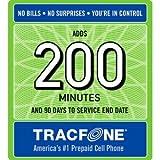 51EW9IxX8EL. SL160  Tracfone 200 Minute Card