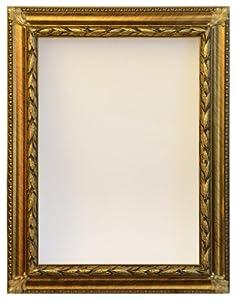 Cornice per quadro specchio specchiera foglia oro casa e cucina - Specchio cornice oro ...