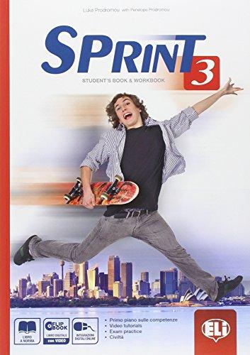 sprint-3-students-book-workbook-flip-book-con-espansione-online-per-le-scuole-superiori-con-dvd