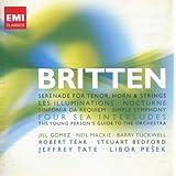 Benjamin Britten: Song Cycles, Sinfonia da Requiem, Four Sea Interludesby Various Artists