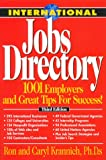 International Jobs Directory: 1001 Employers and Great Tips For Success