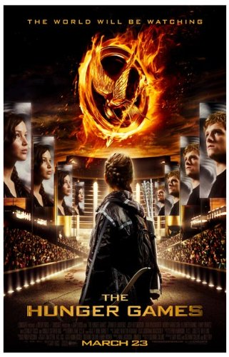 Hunger Games Poster - Promo Flyer 2012 Movie - 11 X 17 - Jennifer Lawrence - Main Mirrors