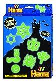 Hama 3414 - Bügelperlen Kleine Geschenkverpackung, Nachtleuchtend hergestellt von Hama