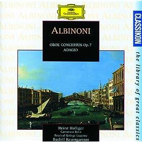 Albinoni: Concerto a 5 in B flat, Op.7, No.3 for Oboe, Strings and Continuo - 1. Allegro