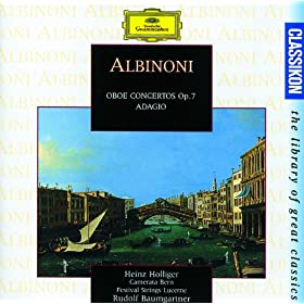Albinoni: Concerto a 5 in B flat, Op.7, No.3 for Oboe, Strings and Continuo - 1. Allegro