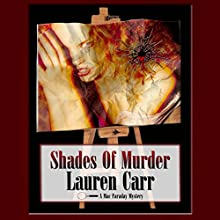 Shades of Murder: A Mac Faraday Mystery Audiobook by Lauren Carr Narrated by Mike Alger