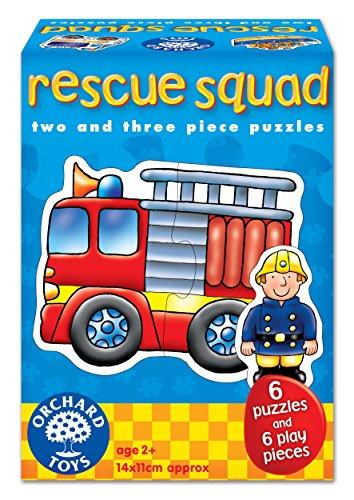 Orchard Toys - Puzzle infantil, diseño de coches