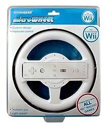 Wii Micro Wheel White