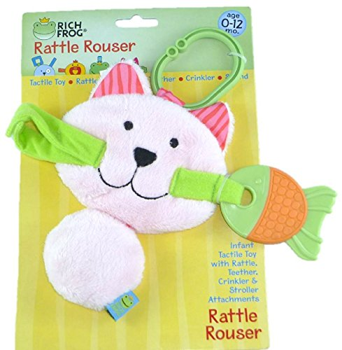 Rich Frog Kitty Rattle Rouser - 1