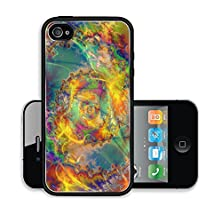 buy Liili Premium Apple Iphone 4 Iphone 4S Aluminum Case Computer Generated Abstract Coloured Fractal Background Illustration Image Id 22584644