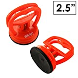 BinTEK 2.5 inch Premium Suction Cup for Dent Pulling and Glass Lifting, ULTRA STRONG