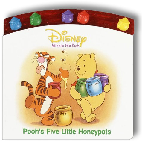 Pooh'S Five Little Honey Pots ((Busy Book) (Disney'S Winnie The Pooh)) front-494078