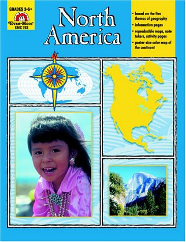 North America, Grades 3-6 (Geography United States)