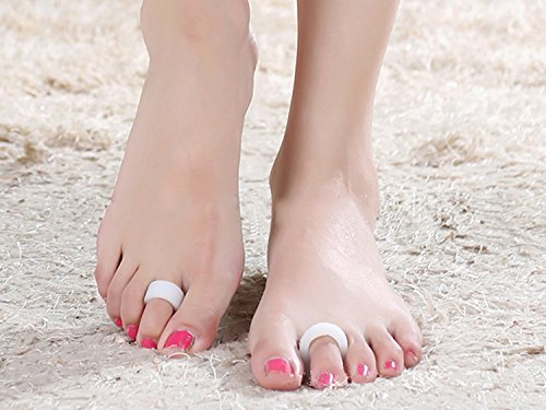1-pair-silicone-gel-hallux-valgus-braces-with-toe-pad-second-toe-ring-unisex-bunion-splint-protectiv