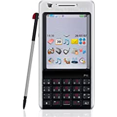 Sony Ericsson P1i silver-black Handy ohne Branding