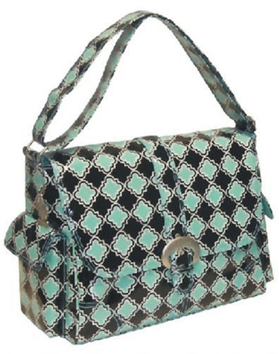 Kalencom Buckle Bag, Geo Aqua Mirror