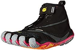 Vibram Women s Bikila Evo WP Road Running Shoe Black/Grey/Purple 36 M EU / 6.5 B(M) US