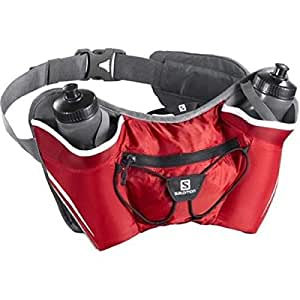 Salomon Twin Ceinture porte bouteille Bright Red/Iron