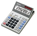 SHARP 経理仕様電卓 5年間保証 早打ち・アンサーチェック機能搭載 セミデスクタイプ 12桁 CS-S932-X