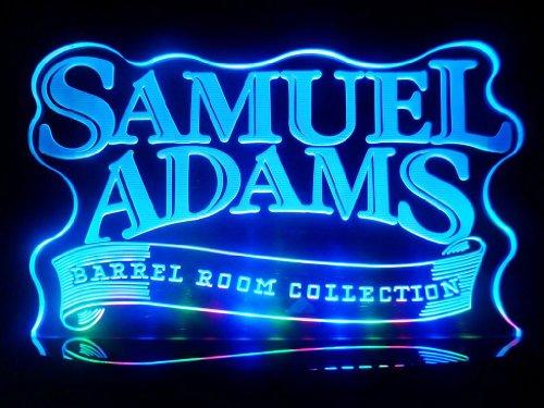 Advertising Samuel Adams Boston Lager Logo LED Desk Lamp Night Light Beer Bar Bedroom Gameroom Signs (Sam Adams Beer Sign compare prices)