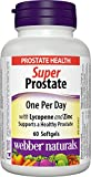 Webber Naturals Extra Strength Super Prostate Softgel