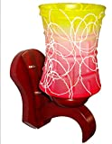Rck Products Wall Lamp((Red-Yellow)