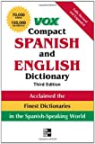 img - for Vox Compact Spanish and English Dictionary, Third Edition (Paperback) (VOX Dictionary Series) book / textbook / text book