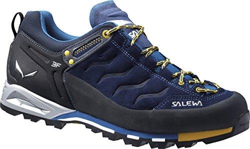 SALEWA - MS MTN TRAINER GTX, Scarpe da trekking da uomo, colore Blu (Navy/Nugget Gold), taglia 42.5