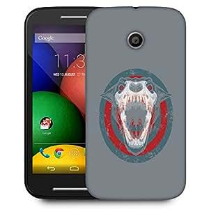 Snoogg Barking Dog Designer Protective Back Case Cover For Motorola Moto E