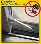 Deerfield Sliding Glass Door Deadbolt Lock (Aluminum Frame)