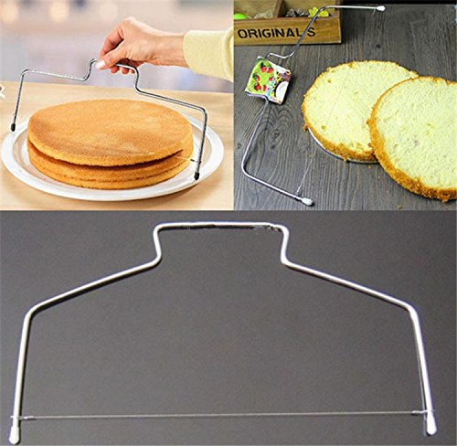 1-pcs-adjustable-cake-slicer-wire-leveler-32-cm-stainless-steel-pastry-delaminator-cake-bread-cutter