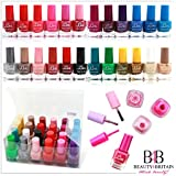 24 x NAIL POLISH VARNISH (SET A) 24 DIFFERENT COLOURS THE BEST GIFT UK