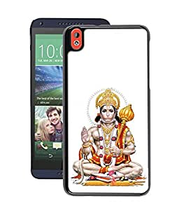 Crazymonk Instyler Digital Printed Back Cover For Htc 816
