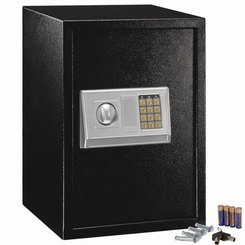 53 off safstar large digital electronic keypad lock security safe box for money gun jewelry. Black Bedroom Furniture Sets. Home Design Ideas