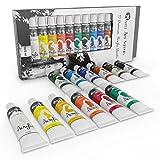 Castle Art Supplies Acrylic Paint Set, Pack of 12 Colors