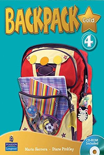 Backpack Gold 4 Student Book & CD ROM N/E Pack