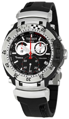 Tissot Men's T0274171705100 T-Race Moto Black