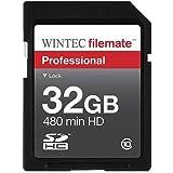 Wintec Filemate 32 GB Professional Class 10 Secure Digital SDHC Card