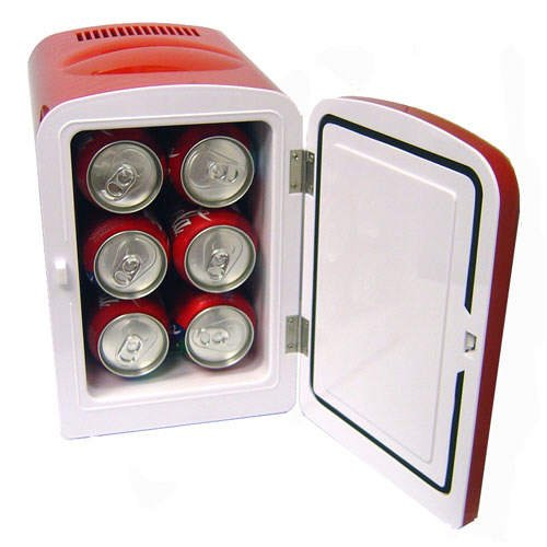 Personal Mini Fridge Cooler / Warmer - Red
