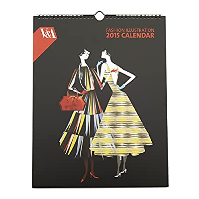V&A Fashion Calendar 2015 by Lesley Barnes||EVAEX